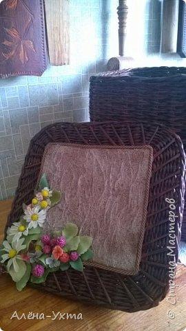 Люблю полевые цветы... Ромашки, клевер, васильки. В этой композиции обошлась без васильков, потому что... не получились у меня они. Капризные))) фото 1
