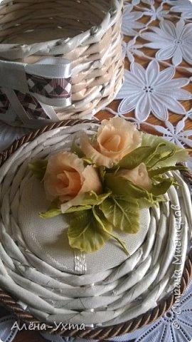 Люблю полевые цветы... Ромашки, клевер, васильки. В этой композиции обошлась без васильков, потому что... не получились у меня они. Капризные))) фото 3
