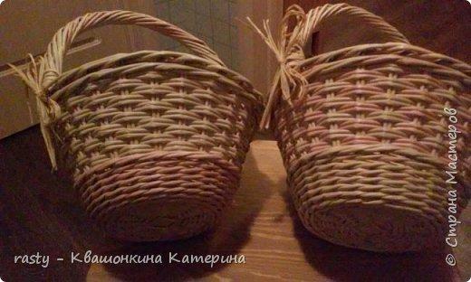 Канун Первомая выдался как никогда бурным. Срочно плела 4 корзины и три ранее сплетенные пристроила удачно!  фото 5