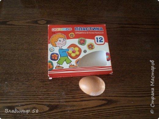 Яйцо - имитация под камень. фото 2