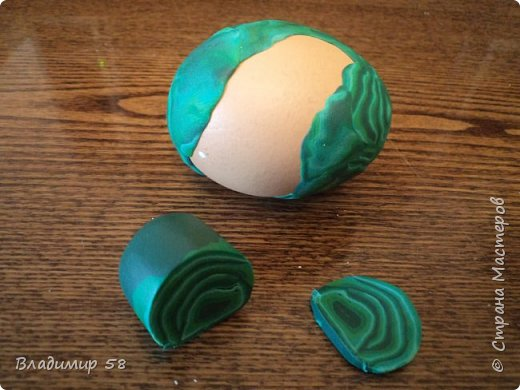 Яйцо - имитация под камень. фото 13