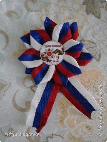 Здравствуйте! Хочу показать свои брошки к Дню Победы. Колосок на этой брошке символизирует флаг Республики Татарстан в котором я живу.  фото 6