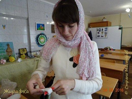 Левая кукла сделана Анной Анатольевной, средняя мной, а правая Кристиной. фото 8