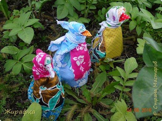 Левая кукла сделана Анной Анатольевной, средняя мной, а правая Кристиной. фото 3