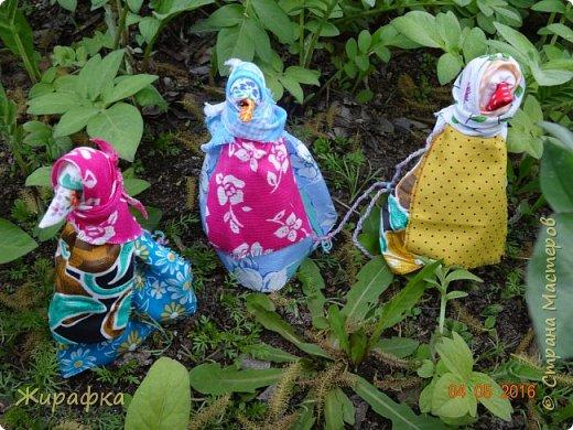 Левая кукла сделана Анной Анатольевной, средняя мной, а правая Кристиной. фото 2
