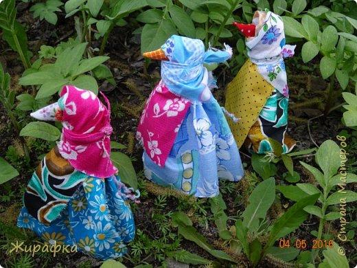 Левая кукла сделана Анной Анатольевной, средняя мной, а правая Кристиной. фото 1
