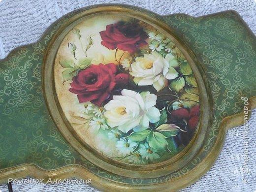 "Вешалка "" Аромат роз"".  фото 3"