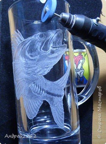 Всем привет! Вот решил снова поделиться с Вами приемами гравировки стекла. Много фото.  фото 11