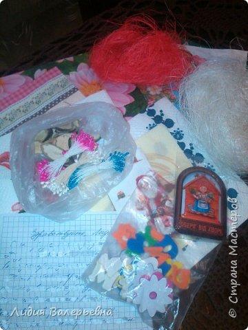 """Здравствуйте , дорогие Мастера. Сегодня получила посылочку от Микоши (http://stranamasterov.ru/user/98868) у которой я была пифочкой и спешу всем похвастаться своими сокровищами. Все таки как приятно получать подарки. """"Летела"""" за посылочкой с такой радостью и трепетом, """"ну что же там может быть"""". И вот......хвастаюсь. Машенька БОЛЬШОЕ-ПРЕБОЛЬШОЕ СПАСИБО. фото 4"""