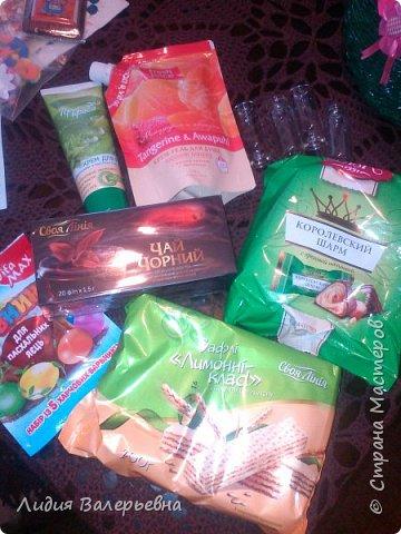 """Здравствуйте , дорогие Мастера. Сегодня получила посылочку от Микоши (http://stranamasterov.ru/user/98868) у которой я была пифочкой и спешу всем похвастаться своими сокровищами. Все таки как приятно получать подарки. """"Летела"""" за посылочкой с такой радостью и трепетом, """"ну что же там может быть"""". И вот......хвастаюсь. Машенька БОЛЬШОЕ-ПРЕБОЛЬШОЕ СПАСИБО. фото 5"""