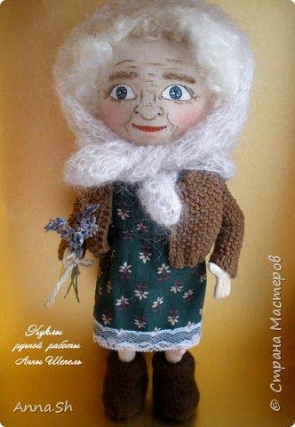 Бабушка Сара  в активном поиске. Кукла свободна и уже готова к переезду.  фото 2