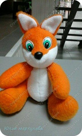игрушки из флиса фото 5