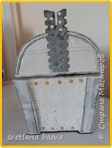 Многофункциональный предмет интерьера в морском стиле (светильник, часы, шкатулка) «Чёрная жемчужина», в технике пейп-арт. фото 14