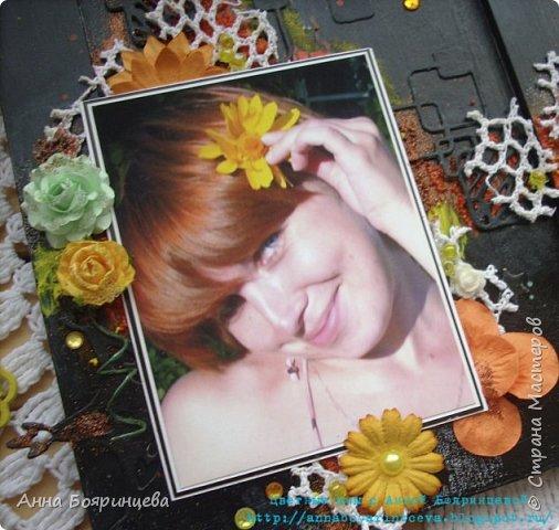 Всем привет!!!! Покажу сегодня рамочку для фото, делала ее на вебинаре С Евгенией Захаровой.  фото 3
