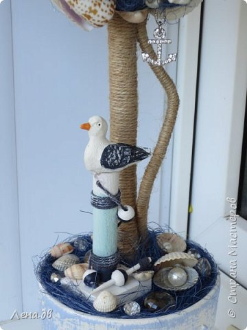 Вот такое получилось деревце в дополнение к аквариуму... фото 3