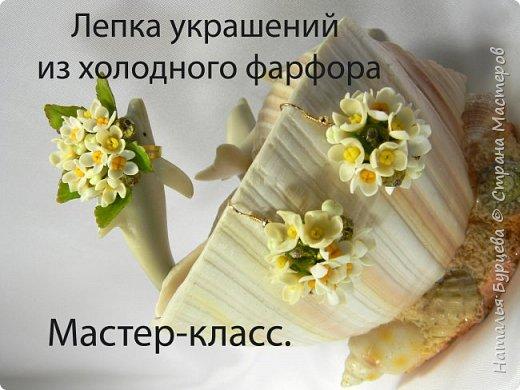 Видео мастер-класс по лепке украшений из холодного фарфора.   фото 1