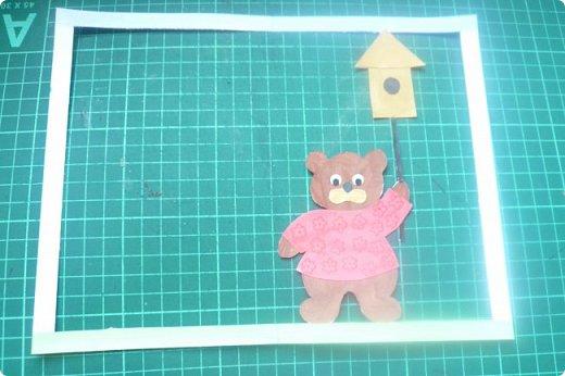 """Здравствуйте! Хочу показать книжку-туннель-раскладушку, которую делала в детский сад на """"Книжкину неделю"""". Книжка для совсем малышковской группы, поэтому тема выбрана самая популярная - времена года.   фото 14"""