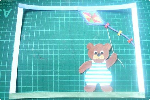 """Здравствуйте! Хочу показать книжку-туннель-раскладушку, которую делала в детский сад на """"Книжкину неделю"""". Книжка для совсем малышковской группы, поэтому тема выбрана самая популярная - времена года.   фото 16"""