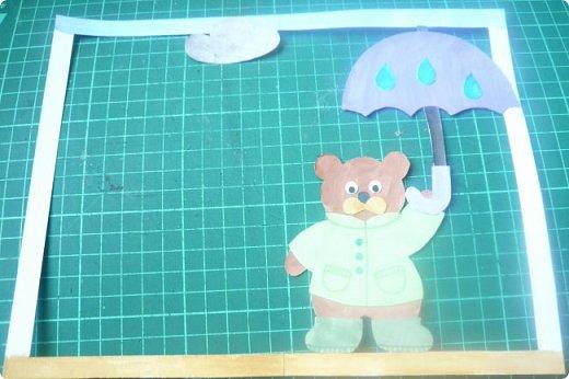 """Здравствуйте! Хочу показать книжку-туннель-раскладушку, которую делала в детский сад на """"Книжкину неделю"""". Книжка для совсем малышковской группы, поэтому тема выбрана самая популярная - времена года.   фото 18"""