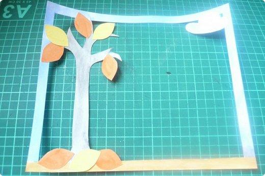 """Здравствуйте! Хочу показать книжку-туннель-раскладушку, которую делала в детский сад на """"Книжкину неделю"""". Книжка для совсем малышковской группы, поэтому тема выбрана самая популярная - времена года.   фото 17"""