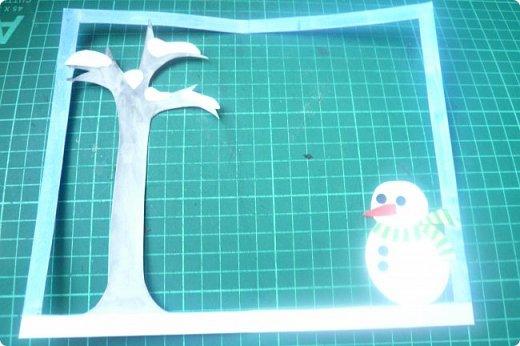 """Здравствуйте! Хочу показать книжку-туннель-раскладушку, которую делала в детский сад на """"Книжкину неделю"""". Книжка для совсем малышковской группы, поэтому тема выбрана самая популярная - времена года.   фото 11"""
