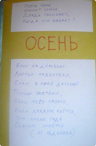 """Здравствуйте! Хочу показать книжку-туннель-раскладушку, которую делала в детский сад на """"Книжкину неделю"""". Книжка для совсем малышковской группы, поэтому тема выбрана самая популярная - времена года.   фото 27"""