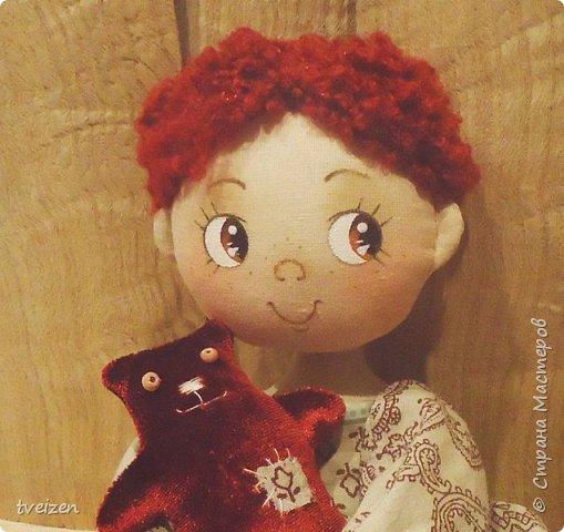 Девчушка с мишуткой фото 1