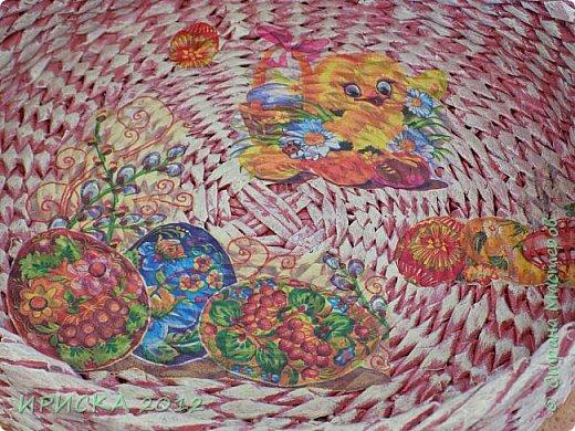 Приветствую всех гостей моей странички!!! Этот набор я делала для своей подружки замечательной мастерицы Сашеньки, вот её страничка http://stranamasterov.ru/user/272925  В наборе: пасхальный поднос, маленькая корзинка и декоративное яичко. фото 11