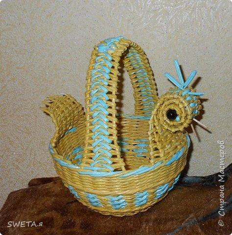"""Пасха уже прошла,но все равно хочу показать какое яйцо смастерила)) Плетение понятно,внутри яйцо от """"киндера"""".Немного увеличила слоем шпатлевки,потом произвольный рисунок точками... фото 2"""