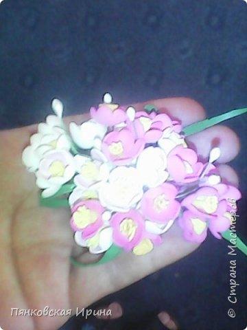 цветы для украшения из фоамирана ( из остатков фома) фото 1
