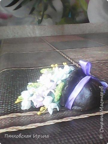 цветы для украшения из фоамирана ( из остатков фома) фото 3