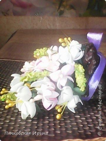 цветы для украшения из фоамирана ( из остатков фома) фото 5