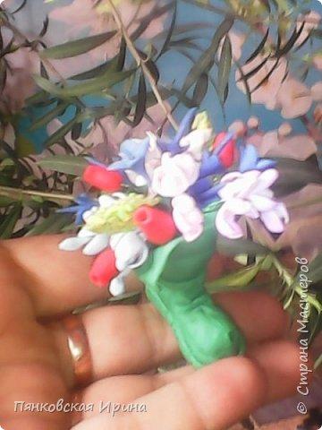 цветы для украшения из фоамирана ( из остатков фома) фото 6