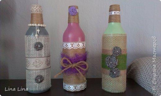 И снова бутылки