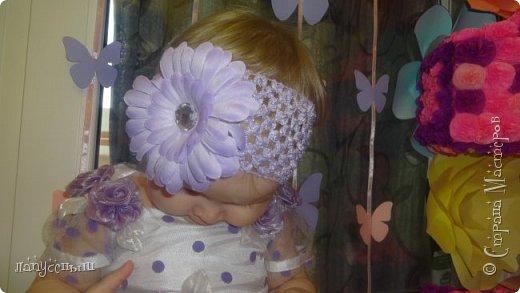 Вот и пролетел год с того момента как я стала мамой дочки... и стала многомамой- двух сыночков и лапочки дочки)))  К первому дню рождения я начала готовится заранее...и вот так родилась  небольшая фотозона фото 5