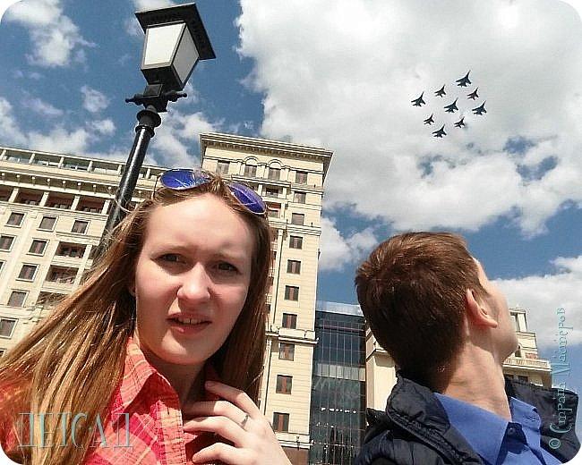 Не каждый, оказывается, может попасть даже на репетицию парада...  Но, находясь даже не в эпицентре событий на Красной площади, можно увидеть много интересного!!! фото 4