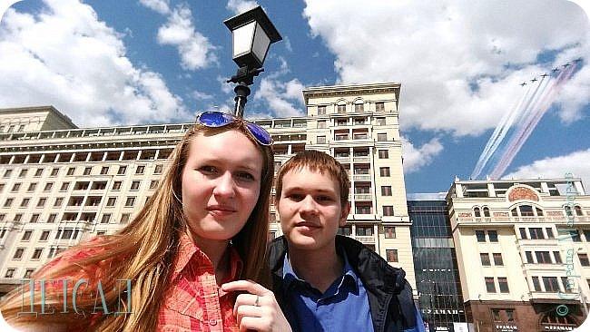 Не каждый, оказывается, может попасть даже на репетицию парада...  Но, находясь даже не в эпицентре событий на Красной площади, можно увидеть много интересного!!! фото 6