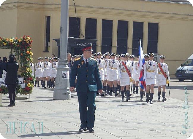 Не каждый, оказывается, может попасть даже на репетицию парада...  Но, находясь даже не в эпицентре событий на Красной площади, можно увидеть много интересного!!! фото 3