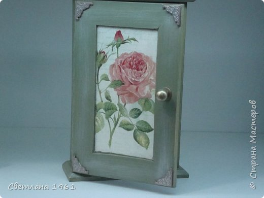 """Ключница """"Розы"""". фото 1"""