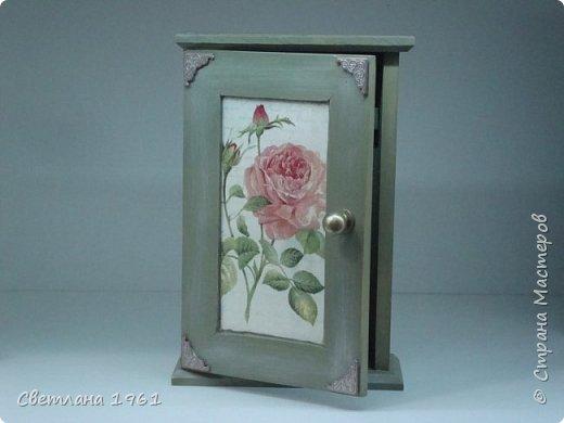 """Ключница """"Розы"""". фото 4"""