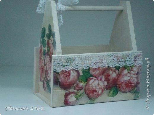 """Ключница """"Розы"""". фото 5"""