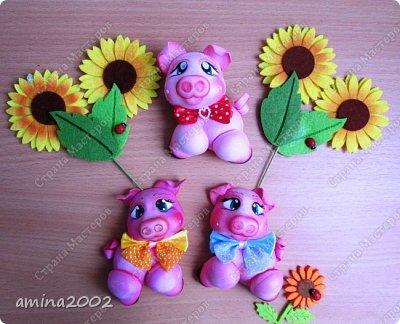 Добрый день! Свинки из фома, заготовки для оформительских работ. фото 1