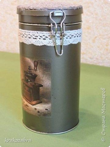 Наконец я закончила банки. Получились они двух типов: чайно-кофейный набор и набор под крупы и приправы. фото 4