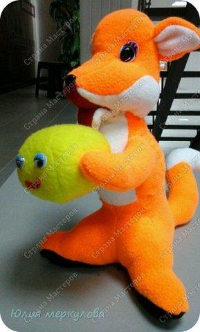 игрушки из флиса фото 9