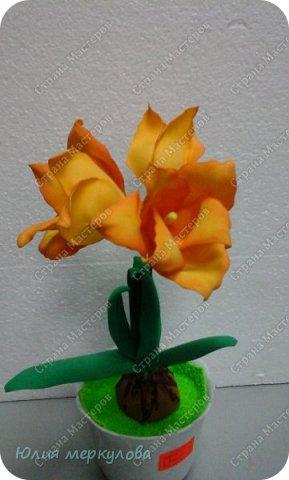 цветы из фома фото 8