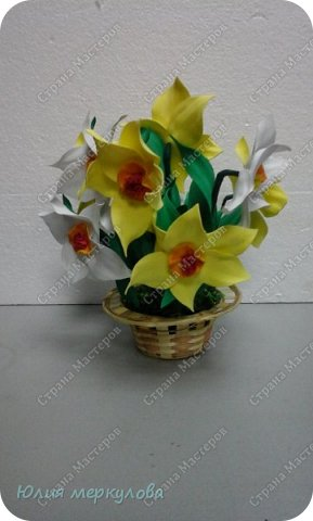 цветы из фома фото 10