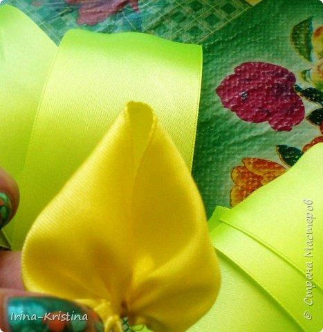 Вот такая простая шапочка преобразилась пышным цветком. фото 5
