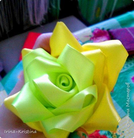 Вот такая простая шапочка преобразилась пышным цветком. фото 8