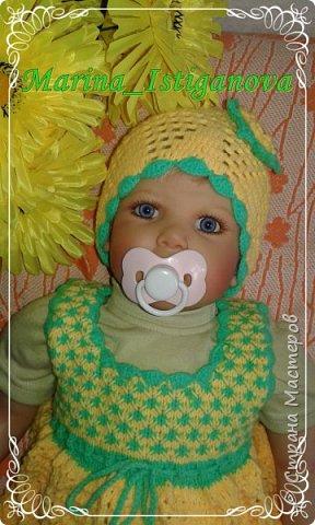 Сарафанчик для малышки  фото 5