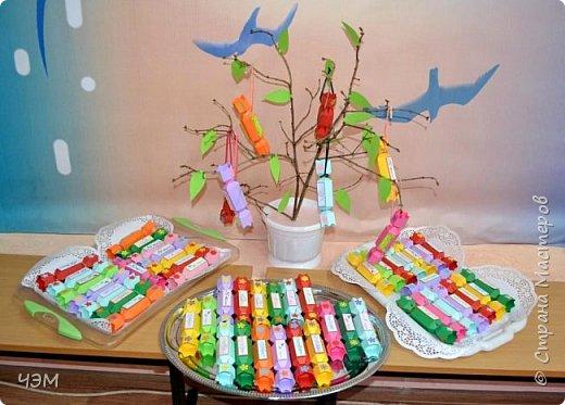 Подарок учителям-конфетное дерево! фото 1
